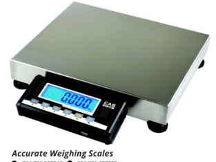Waterproof weighing scale with load cell protection at low cost B