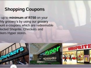 SAVINGS ON MONTHLY GROCERIES