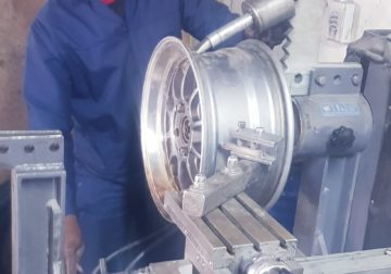 Mag wheel Repairs, aluminium welding and tyre sales and fitment