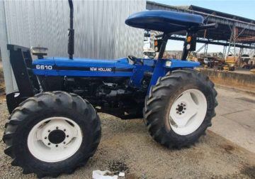 2007 New-Holland-Tractor-4wd- for sale in good condition