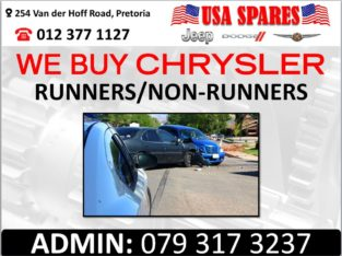 WE BUY CHRYSLER RUNNERS & NON RUNNERS FOR PARTS