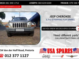 JEEP CHEROKEE 3.7 KJ 2005 STRIPPING FOR SPARES