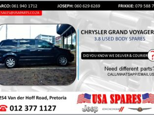 CHRYSLER GRAND VOYAGER 3.8 USED BODY SPARES/PARTS