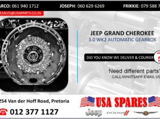 JEEP GRAND CHEROKEE 3.0 AUTOMATIC TRANSMISSION