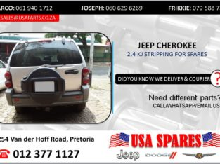 JEEP CHEROKEE 2.4 KJ 2005 STRIPPING FOR SPARES