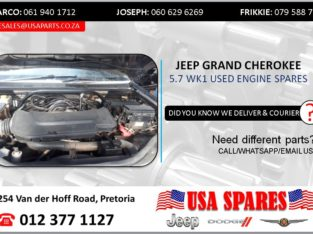 JEEP GRAND CHEROKEE 5.7 WK USED ENGINE SPARES/PARTS