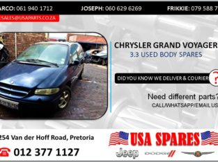 CHRYSLER GRAND VOYAGER 3.3 USED BODY SPARES/PARTS