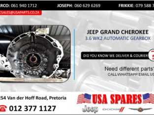 JEEP GRAND CHEROKEE 3.6 AUTOMATIC TRANSMISSION