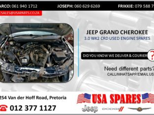 JEEP GRAND CHEROKEE 3.0 WK2 USED ENGINE SPARES/PARTS