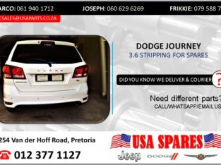 DODGE JOURNEY 3.6 2013 STRIPPING FOR SPARES