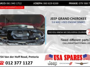 JEEP GRAND CHEROKEE 3.6 WK2 USED ENGINE SPARES/PARTS