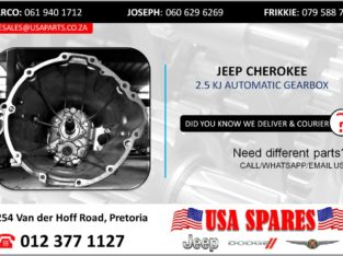 JEEP CHEROKEE 2.5 KJ AUTOMATIC TRANSMISSION
