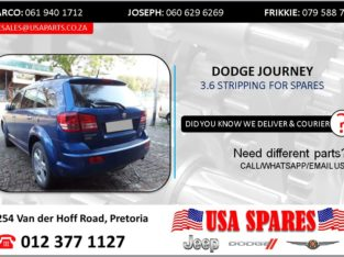 DODGE JOURNEY 2.7 2010 STRIPPING FOR SPARES