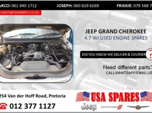 JEEP GRAND CHEROKEE 4.7 WJ USED ENGINE SPARES/PARTS