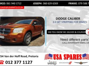 DODGE CALIBER 2.0 SXT STRIPPING FOR USED SPARES/PARTS
