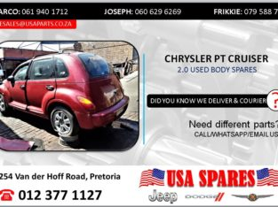 CHRYSLER PT CRUISER 2.0 USED BODY SPARES/PARTS