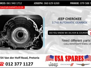 JEEP CHEROKEE 3.7 KJ AUTOMATIC TRANSMISSION