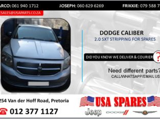 DODGE CALIBER 2.0 2008 STRIPPING FOR SPARES