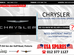 CHRYSLER NEW & USED SUSPENSION & STEERING SPARES/PARTS