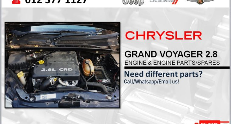 CHRYSLER GRAND VOYAGER 2.8 USED & NEW ENGINE & ENGINE SPARES