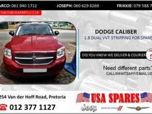 DODGE CALIBER 1.8 2009 STRIPPING FOR SPARES