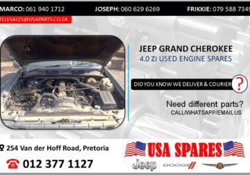 JEEP GRAND CHEROKEE 4.0 ZJ USED ENGINE SPARES/PARTS