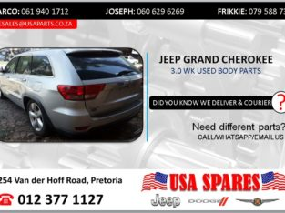 JEEP GRAND CHEROKEE 3.0 WK USED BODY SPARES/PARTS