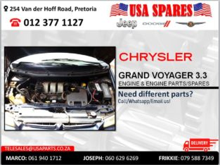 CHRYSLER GRAND VOYAGER 3.3 USED & NEW ENGINE & ENGINE SPARES