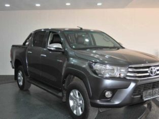 THE 2017 TOYOTA HILUX 2.8GD-6 DOUBLE CAB RAIDER