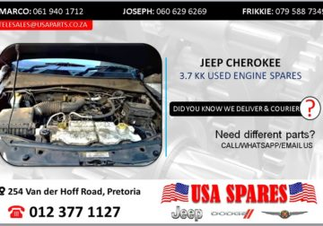 JEEP CHEROKEE 3.7 KK USED ENGINE SPARES/PARTS