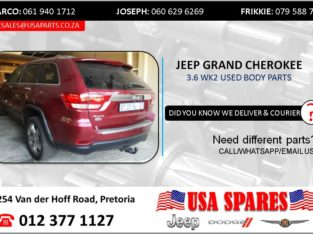 JEEP GRAND CHEROKEE 3.6 WK2 USED BODY SPARES/PARTS