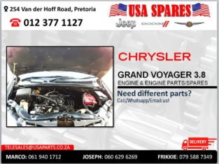 CHRYSLER GRAND VOYAGER 3.8 USED & NEW ENGINE & ENGINE SPARES