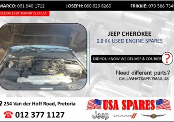 JEEP CHEROKEE 2.8 KK USED ENGINE SPARES/PARTS