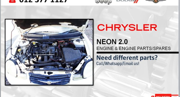 CHRYSLER NEON 2.0 USED & NEW ENGINE & ENGINE SPARES
