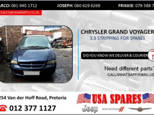 CHRYSLER GRAND VOYAGER 3.3 2000 STRIPPING FOR SPARES