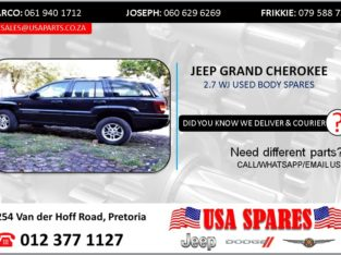 JEEP GRAND CHEROKEE 2.7 WJ USED BODY SPARES/PARTS