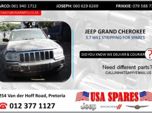 JEEP GRAND CHEROKEE 5.7 2005 STRIPPING FOR SPARES