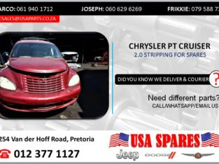 CHRYSLER PT CRUISER 2.0 2002 STRIPPING FOR SPARES