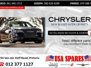 CHRYSLER STRIPPING FOR USED SPARES/PARTS