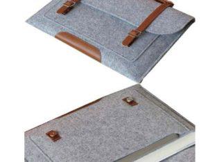 Handmade felt briefcases