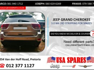 JEEP GRAND CHEROKEE 3.0 2013 STRIPPING FOR SPARES
