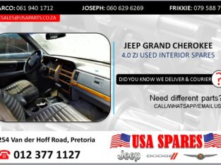 JEEP GRAND CHEROKEE 4.0 ZJ USED INTERIOR SPARES/PARTS