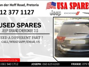 JEEP GRAND CHEROKEE 3.0 USED SPARES/PARTS