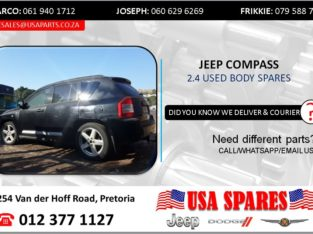 JEEP COMPASS 2.4 USED BODY SPARES/PARTS