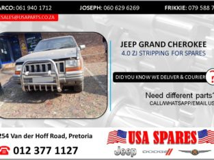 JEEP GRAND CHEROKEE 4.0 ZJ 1997 STRIPPING FOR SPARES
