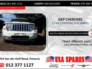 JEEP CHEROKEE 3.7 KK 2012 STRIPPING FOR SPARES