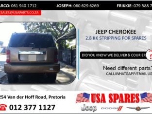 JEEP CHEROKEE 2.8 KK 2012 STRIPPING FOR SPARES