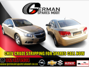 Chev Cruze stripping for spares