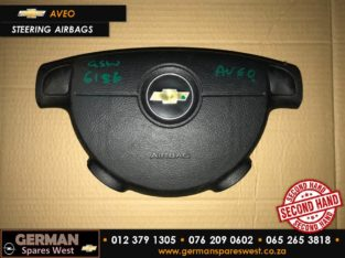 Chevrolet Aveo Used Steering Wheel Airbag & Spares Parts