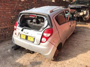 Chevrolet Spark 3 2014 Silver 1.4 Chev Stripping for Used Spares